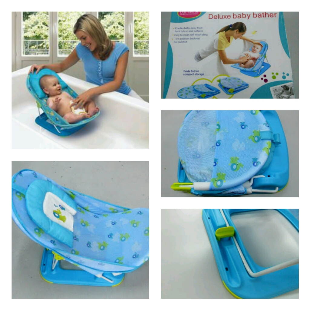MomsBaby Paradise~: CARTERS DELUXE BABY BATHER