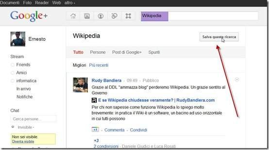 ricerche-google-plus