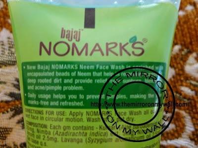 NoMarks Neem FaceWash2.JPG