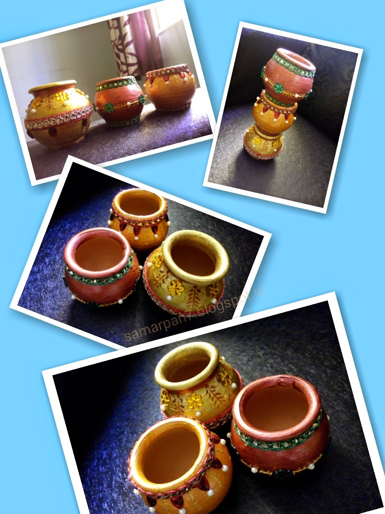 Home Decor Earthen Pots