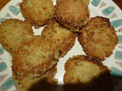 Quinoa fritters-crisp, golden brown, and incredibly delicious