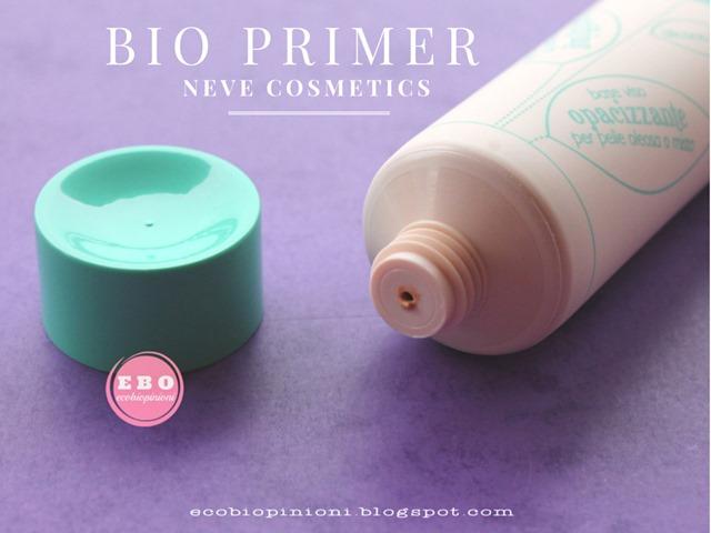 Neve Cosmetics Bio primer copia