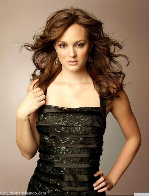 Leighton meester blair gossip girl garota do blog linda sensual desbaratinando  (7)
