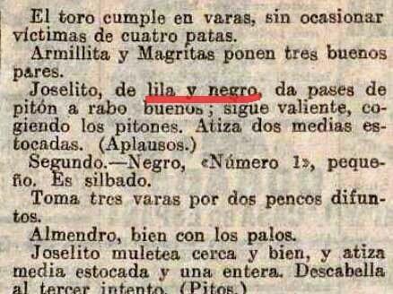 1916-09-11 (p. LAcc) Joselito lila y negro