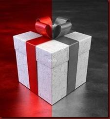 Casa 22 Presente Caixa com laco de fita