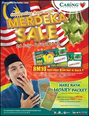Caring Merdeka Sale 2013 All Discounts Offer Shopping EverydayOnSales