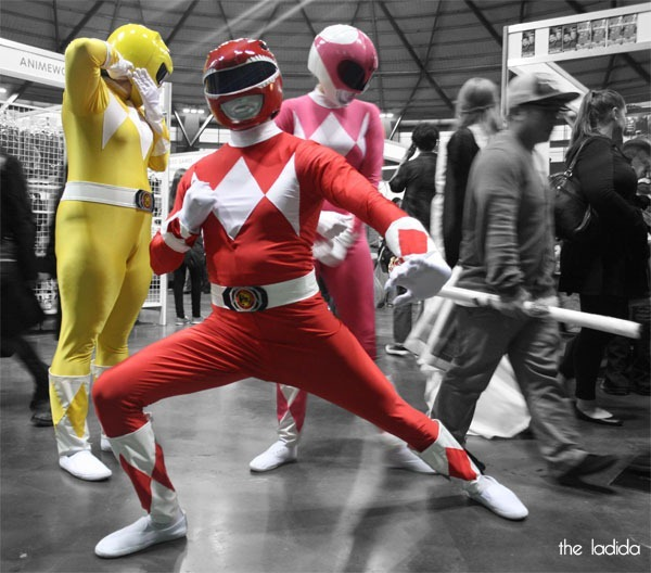 Supanova Sydney 2013 Cosplay - Power Rangers