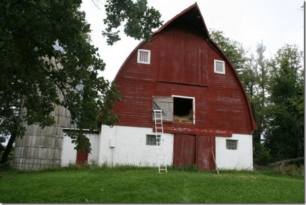Transformando um celeiro antigo em casa (1)