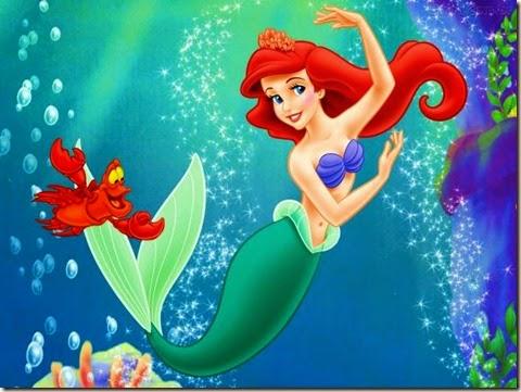 ariel la sirenita, princesa ariel, bajo el mar, la sirenita 2