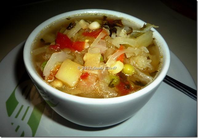 Fácil Sopa de Verduras