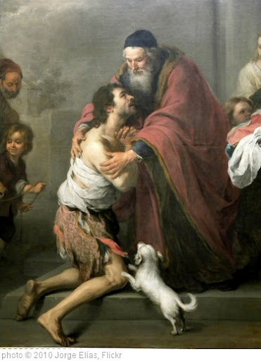 'The Return of the Prodigal Son, 1667/1670' photo (c) 2010, Jorge Elías - license: http://creativecommons.org/licenses/by/2.0/