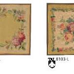 Dekoracje gobelinowe w tradycyjnym stylu.