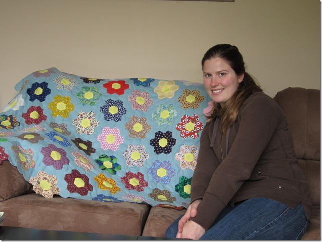 Laina and GFG quilt