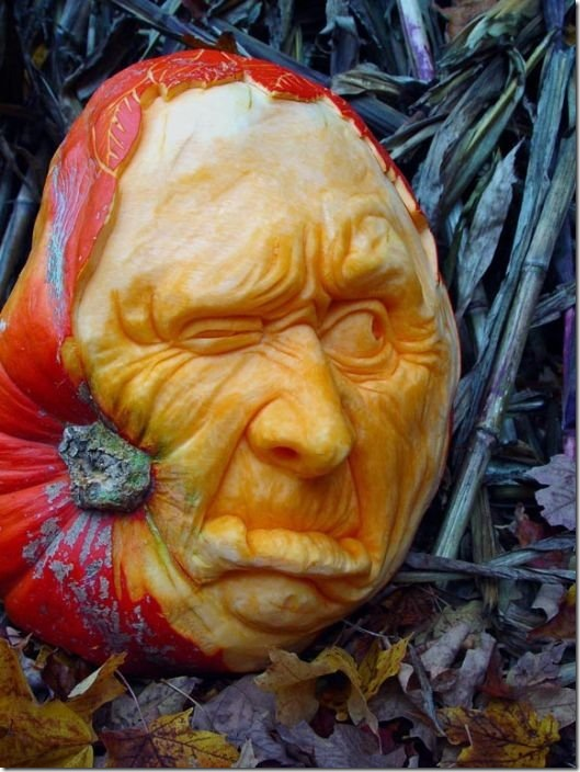 awesome pumpkin carving 7