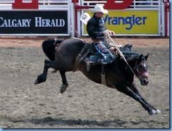 9384 Alberta Calgary - Calgary Stampede 100th Anniversary - Stampede Grandstand - Calgary Stampede Rodeo Novice Saddle Bronc Championship