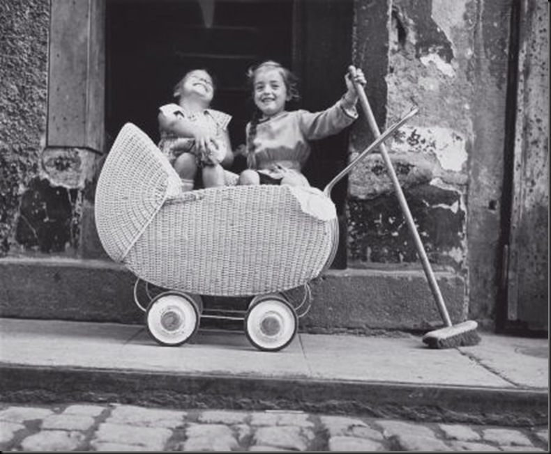 Bill Perlmutter.Carriage and Broom.1956