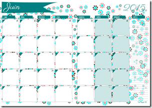agenda mensuel - 06 juin 2015