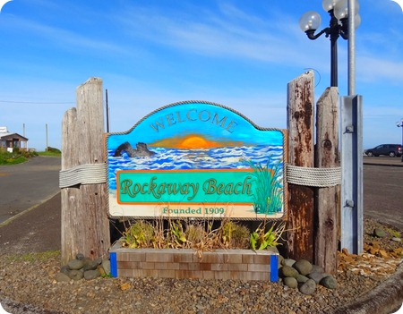 Rockaway Beach sign
