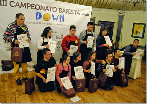 participantes III barista down galicia 21122014