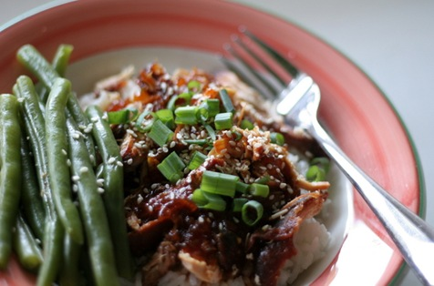 crockpot sesame chicken 2