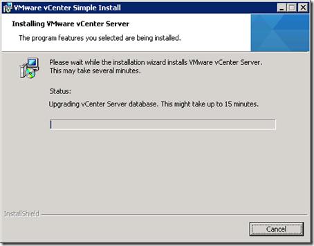30_vCenter Server Installing