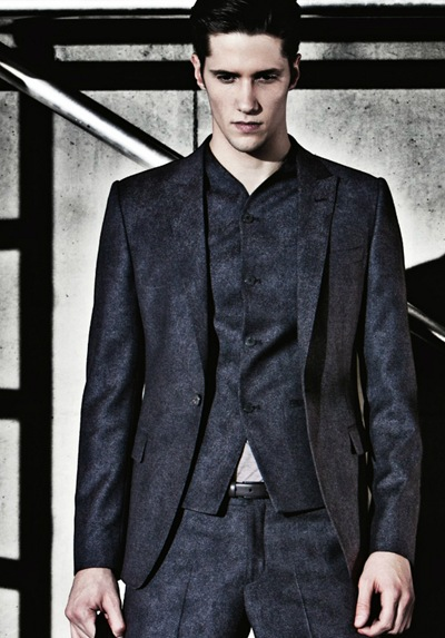 Elia Cometti by David McKnight for Emporio Armani F/W 2011 lookbook