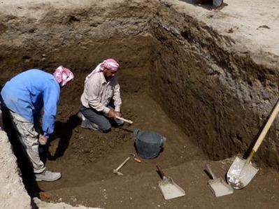 construções de 4 mil anos no Iraque