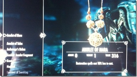 skyrim marriage 04 amulet