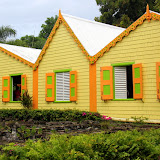 Bright, Caribbean Colors At Romney Manor - Basseterre, St. Kitts