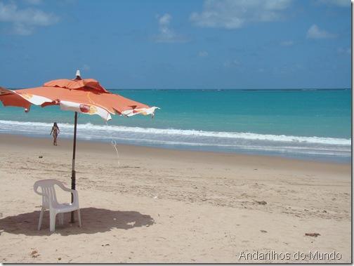 praia de Ipioca em frente ao resort