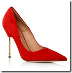 Red Evening Shoes