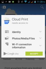 พิมพ์เอกสารแบบออนไลน์ด้วย cloud print