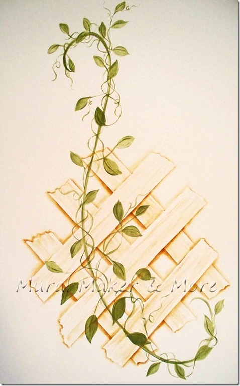 Paint A Trellis Without A Stencil