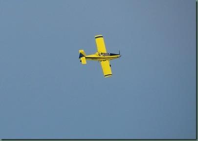mosquito control airplane