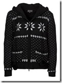 Fair Isle Black Cardigan