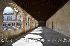 Glória Ishizaka - Mosteiro de Alcobaça - 2012 - 80 - claustro de D. Dinis