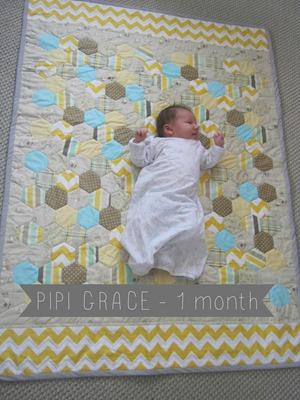 Pipi Grace 1 month