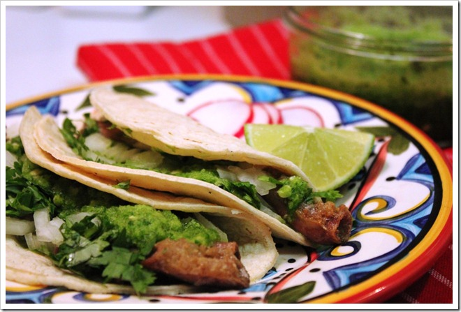 How to Make Tripitas Tacos