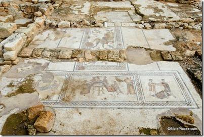 Sepphoris Orpheus mosaic, tb110106436
