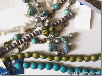 Blue Moon Beads Kiwi and Teal