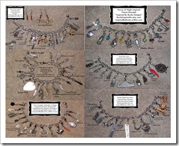Charm Bracelet Collage