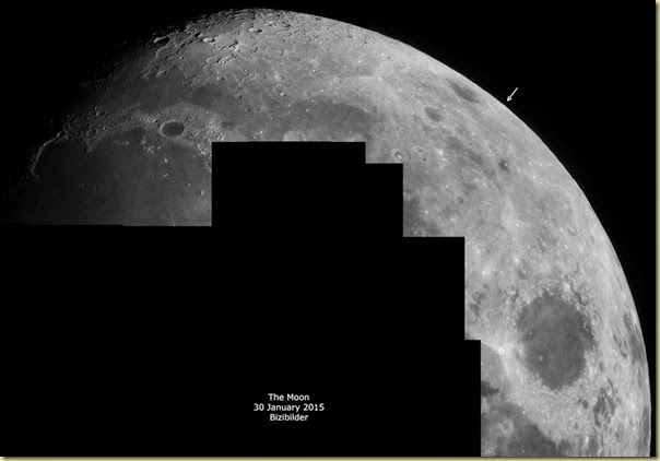 30 January 2015 Moon Libration Mosaic
