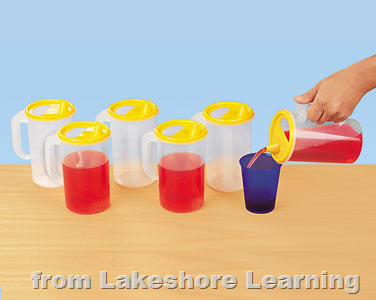 Help Yourself Pitchers Pouring Practice