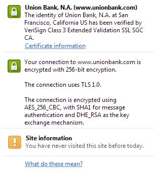 UB of C TLS