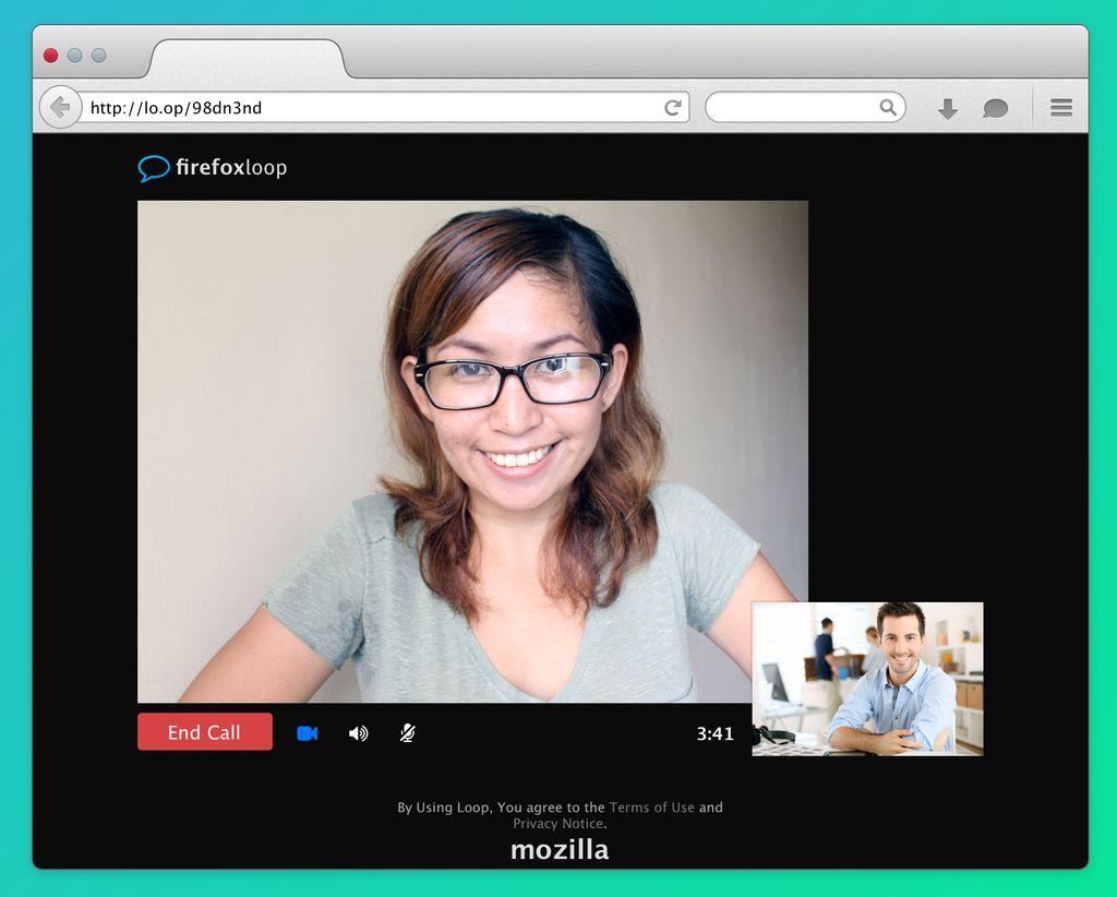 Firefox: video-chiamata utilizzando WebRTC