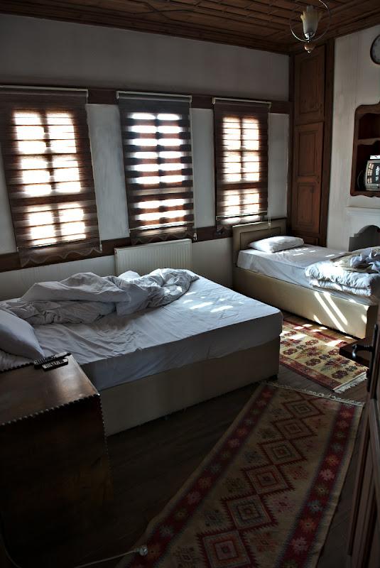 Pensiunea dintr- veche casa otomana.