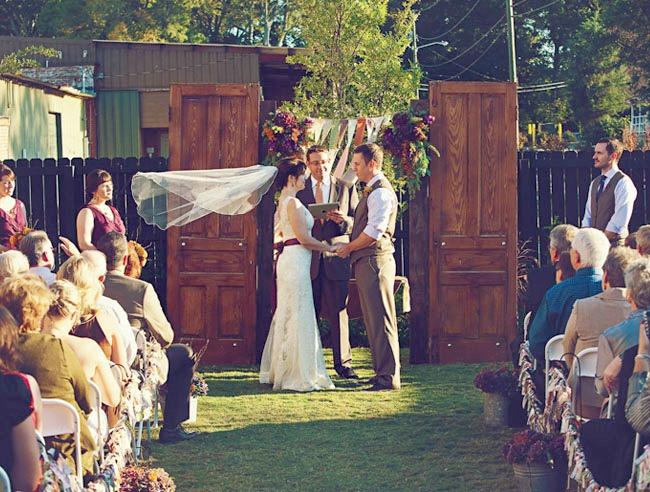 decoracao casamento vitage - homespun - 10