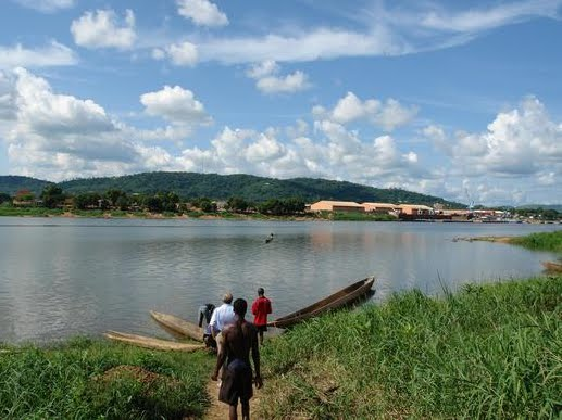 Rivière Ubangui. Photo fr.academic.ru