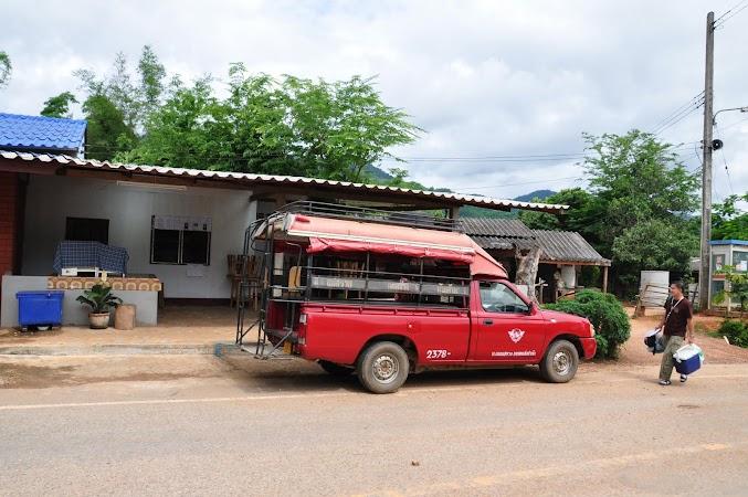 Imagini Thailanda: Masina noastra 4X4 catre satul Akha, tribul Akha, Thailanda