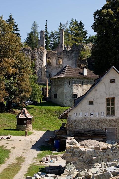 Sklabinský hrad, múzeum